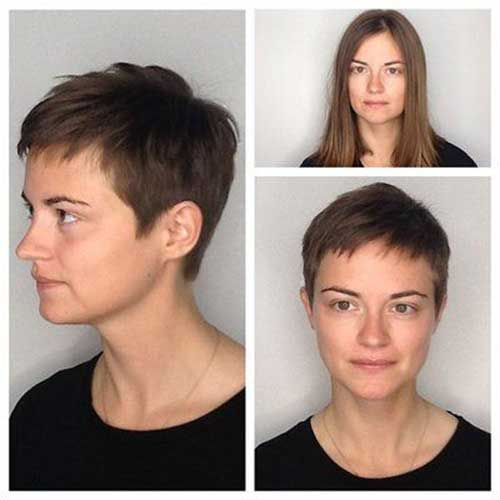 Pixie Hairstyles for Round Face 2020
