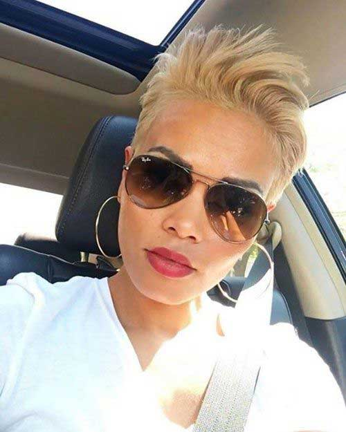 Blond Pixie Styles for Women