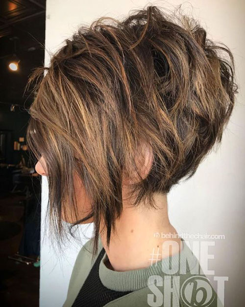 Bronde Inverted Bob Hairstyles