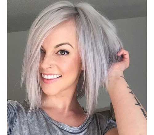 Inverted Straight Bob Hairstyles