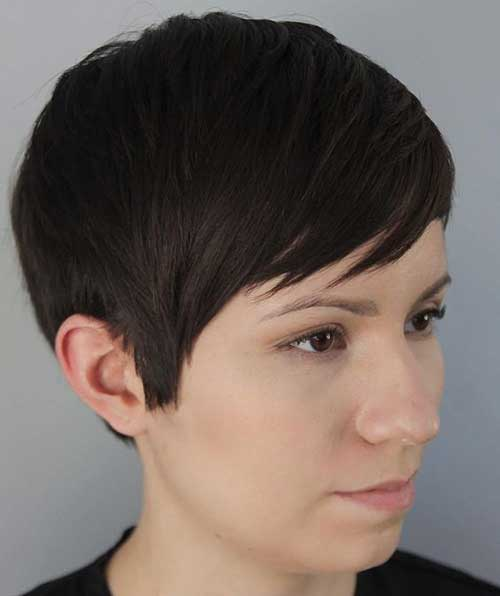 Not Too Short Pixie Haircuts