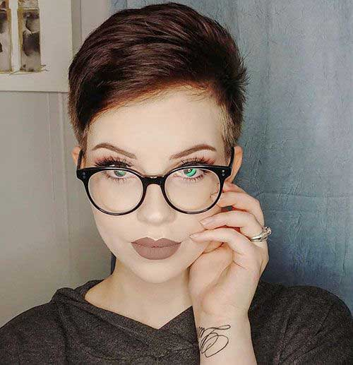 Pixie Styles for Women with Glasses