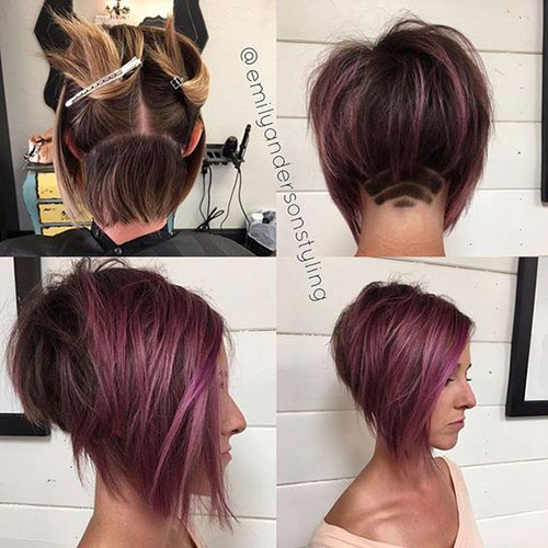 Stacked Inverted Bob Hairstyles