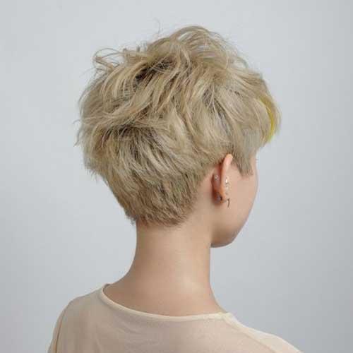 Blonde Boyish Pixie Haircuts