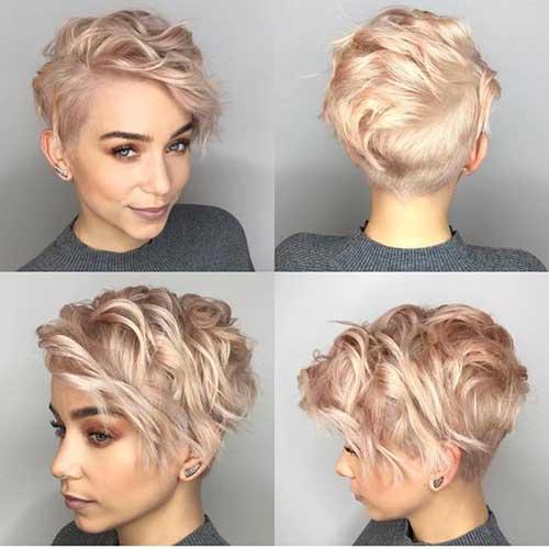 Blonde Pixie Haircuts for Fine Hair