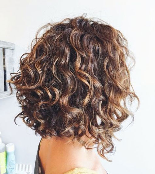 20 Bob Hairstyles For Curly Hair To Show Your Curls Short Hairstyless