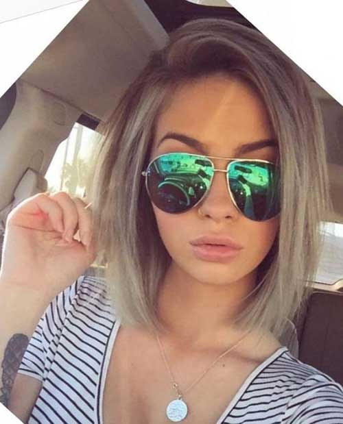 Chic Short Straight Cuts