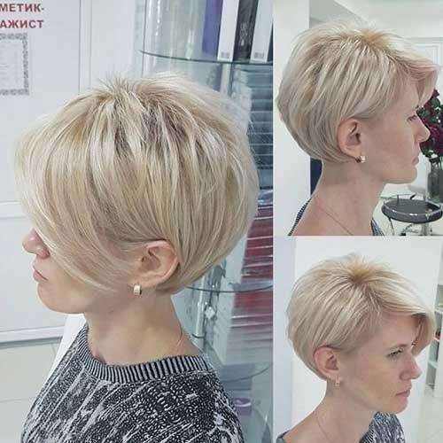 Cute Blonde Pixie Haircuts