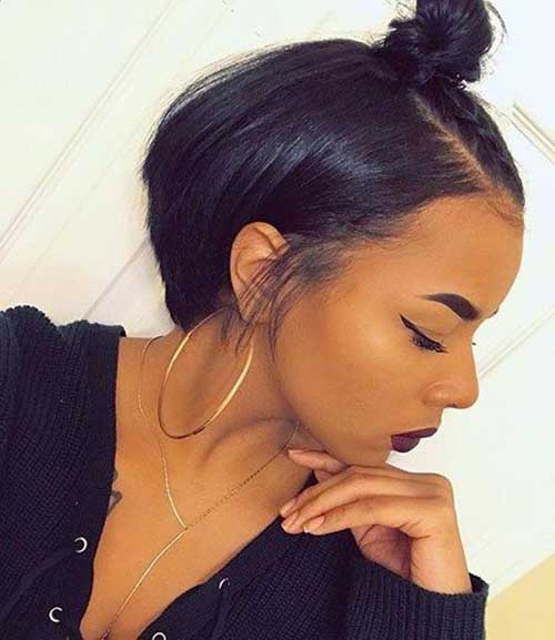 Cute Short Haircuts for Black Ladies