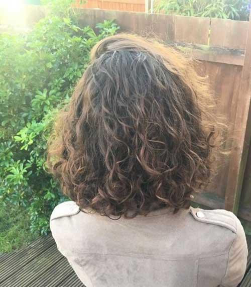 Cute Short Curly Styles
