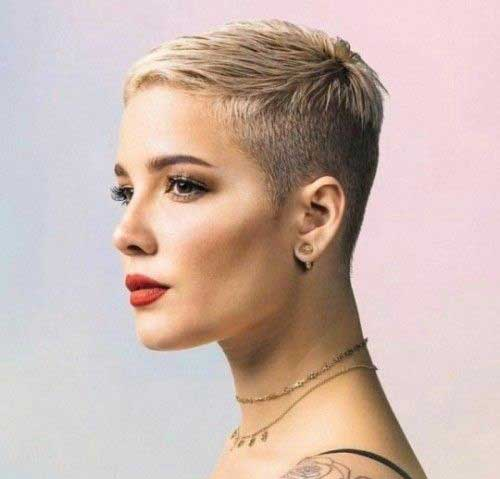 Halsey Short Straight Cuts