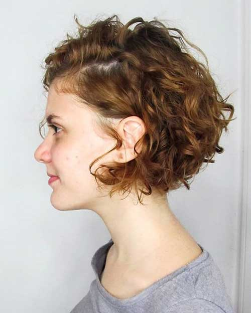 Latest Bob Hairstyles for Curly Hair