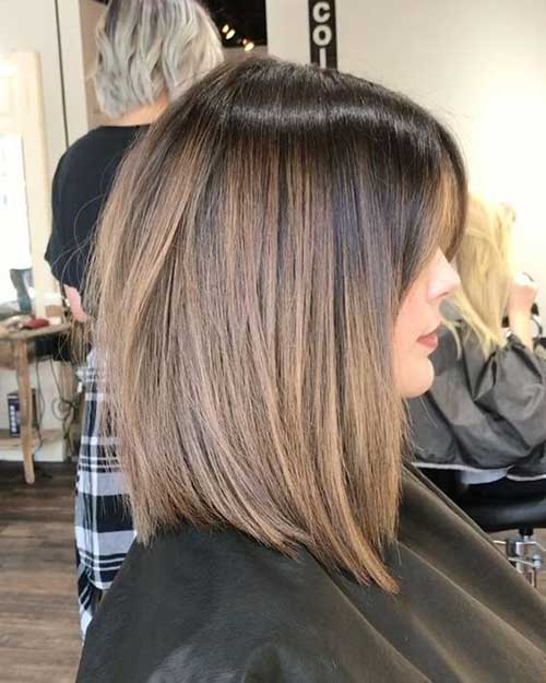 Short Medium Straight Hairstyles 2020