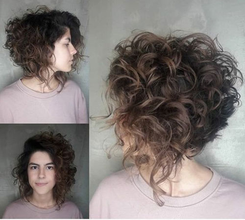 Natural Bob Hairstyles for Curly Hair