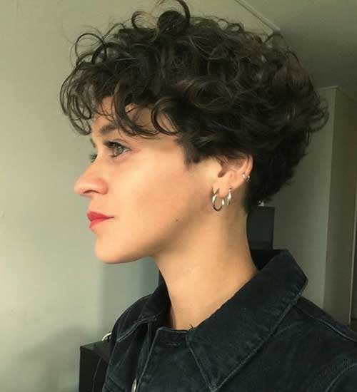 New Short Curly Styles