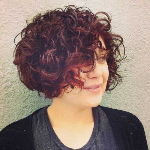 Quick Bob Hairstyles for Curly Hair