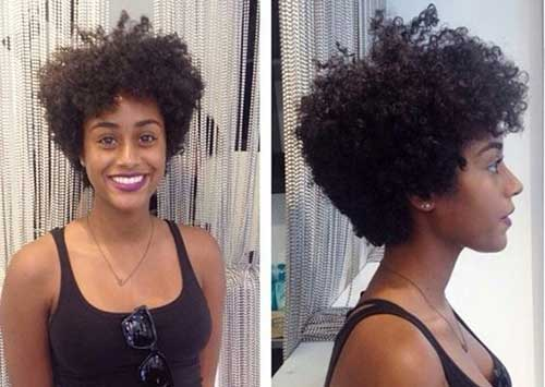 Short Afro Haircuts for Black Ladies
