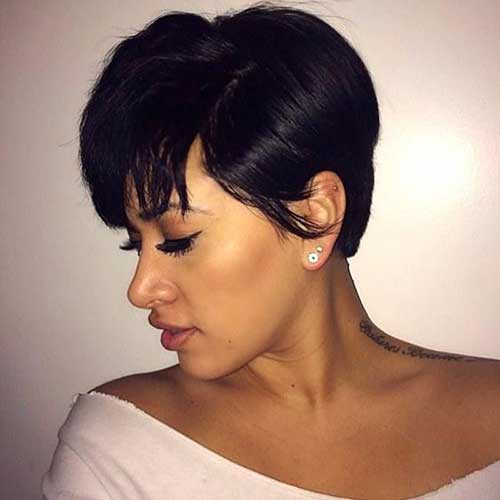 Short Pixie Haircuts for Black Ladies