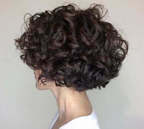20+ Short Haircuts for Curly Hair Women for Cute Locks