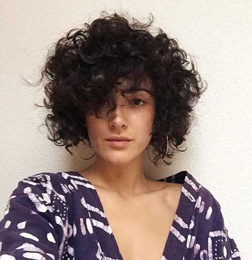 Short Curly Fine Styles