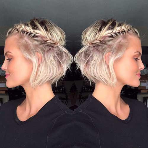 Short Hair Updo Ideas
