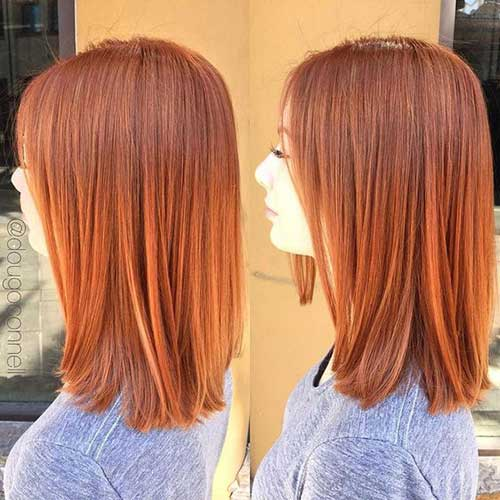 Short Copper Straight Cuts