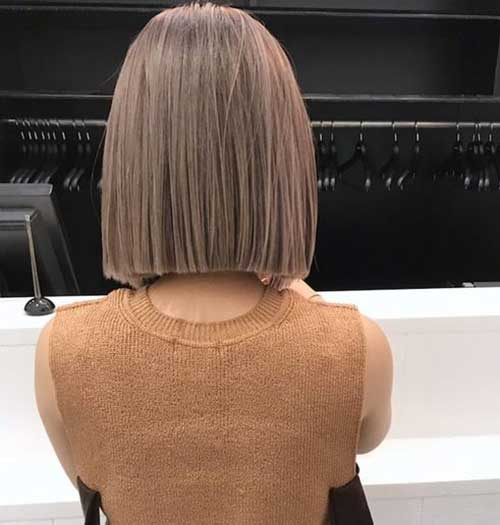 Short Straight Cuts for Fine Hair