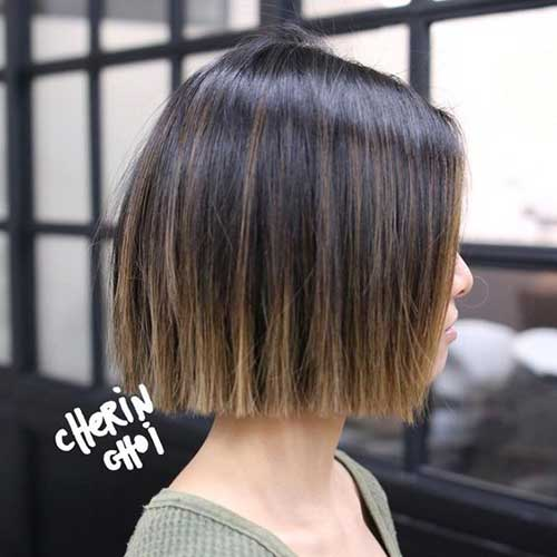 Short Straight Haircuts