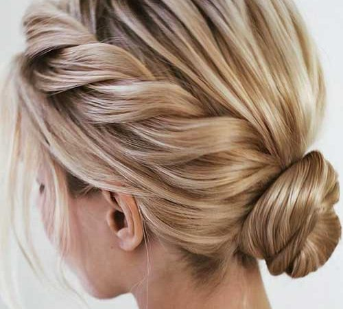 18 Short Updo Styles to Try at Home