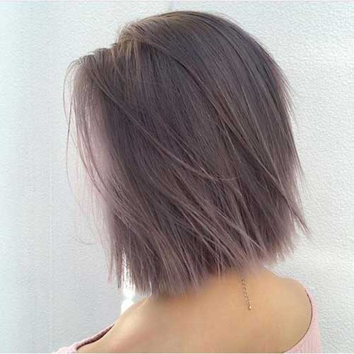 Classy Short Straight Hairstyles 2020