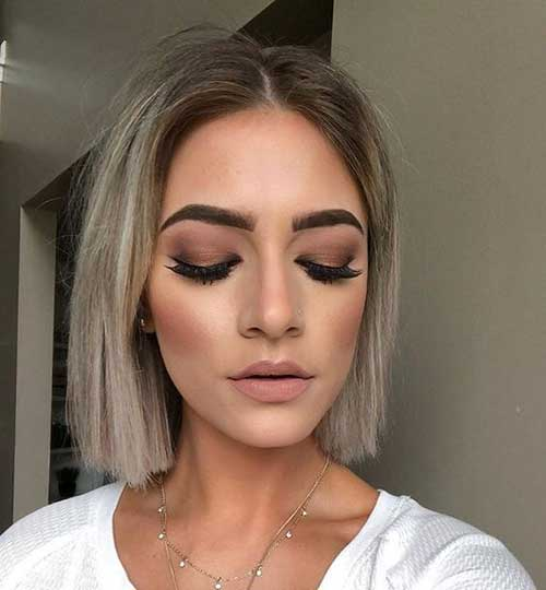 Short Straight Fine Hairstyles 2020