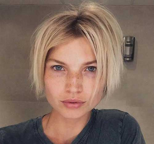 Short Straight Messy Hairstyles 2020