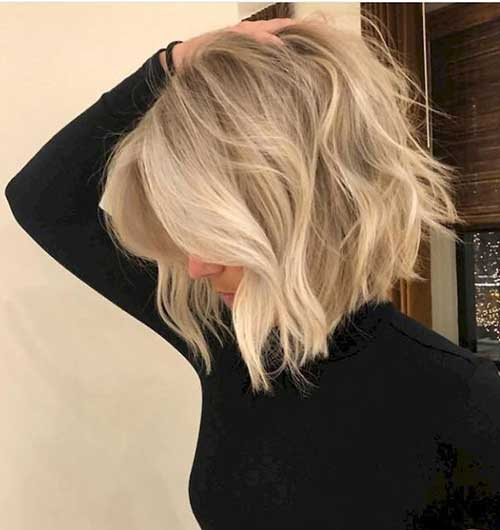 Blonde Bob Thin Styles