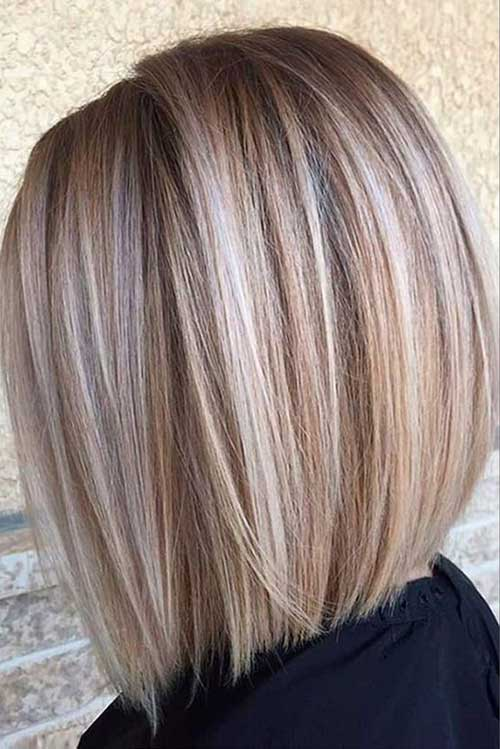 Blonde Bob Highlights Styles
