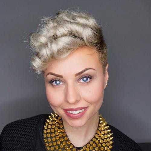 Blonde Pixie Hairstyles 2020