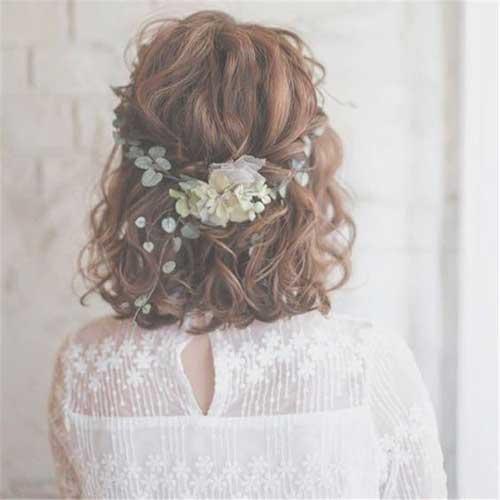 Short Bridal Beach Hairstyles