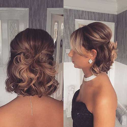 15 Bridal Hairstyles For Short Hair For Your Day Short Hairstyless