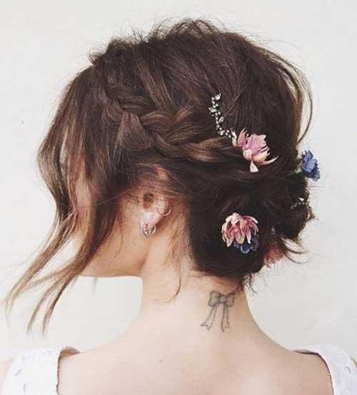 Gorgeous Short Bridal Hairstyles