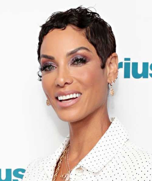 Short Nicole Murphy Hairstyles for Black Women 2020