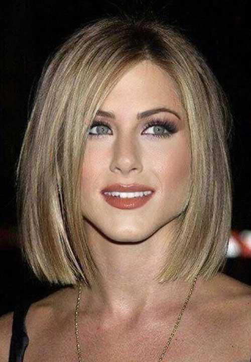 Jennifer Aniston Straight Bob Hairstyles