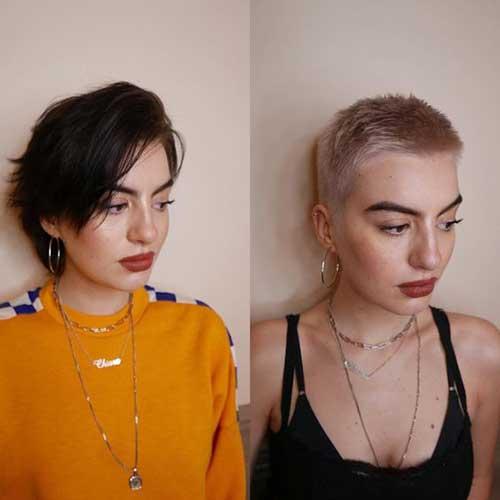 Buzz Cut Pixie Hairstyles 2020