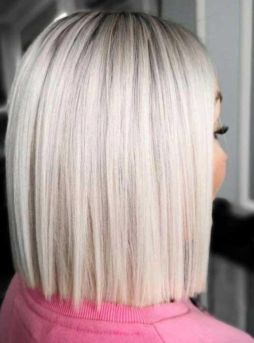 Platinum Blonde Bob Styles