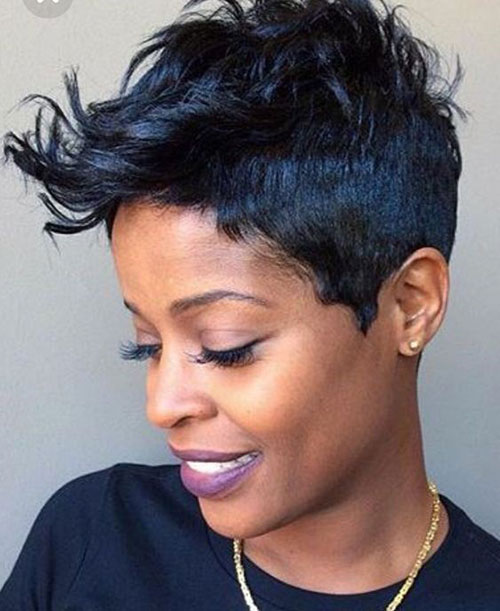 Sassy Short Hairstyles for Black Women 2020