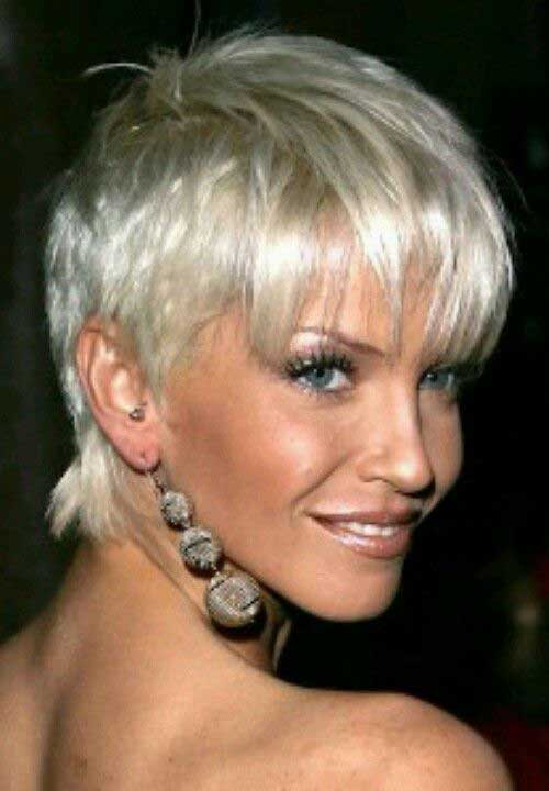 Short Blonde Haircuts for Over 50