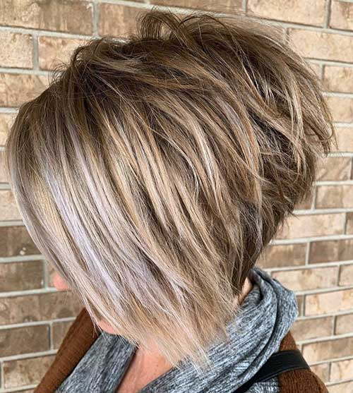 Short Hairstyles for Women Over 50 2020
