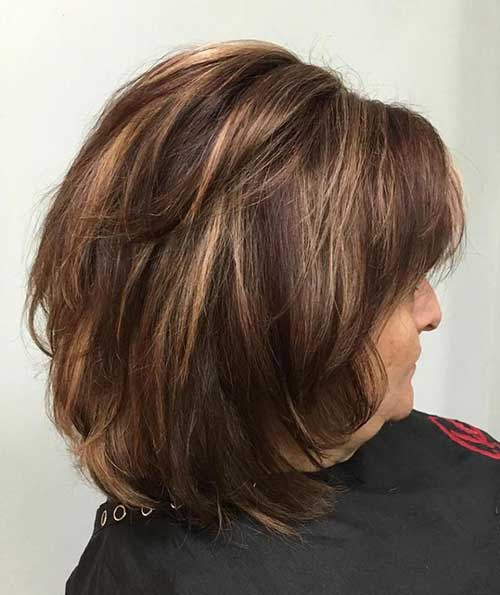 Short Haircuts with Bangs for Over 50