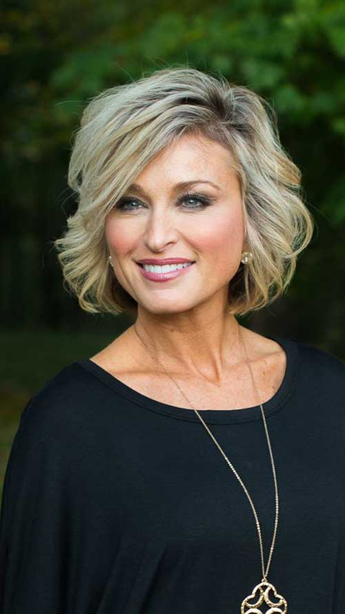 Short Modern Haircuts for Over 50