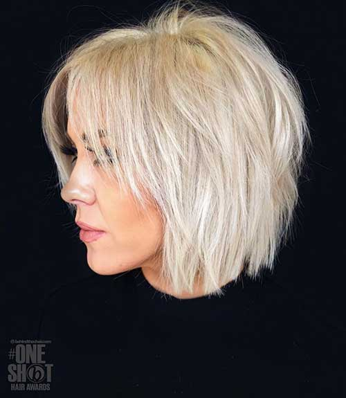 Short Thin Haircuts for Over 50