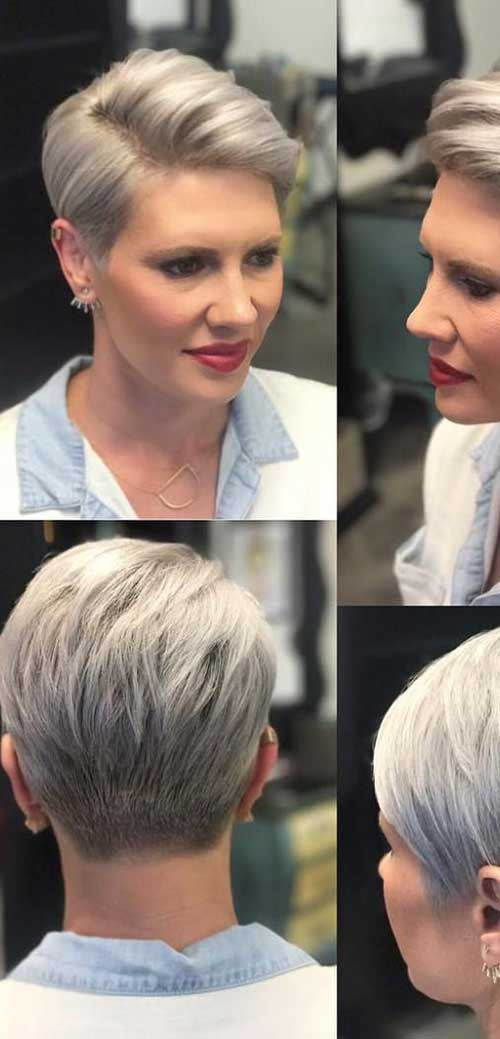 Side Part Pixie Hairstyles 2020