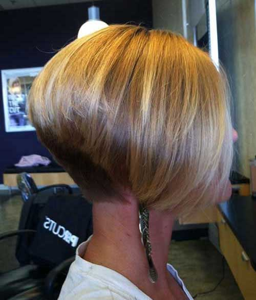 Straight Inverted Bob Hairstyles